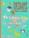 Origami para Niños … y Adultos Da 8 a 88 años: Manualidades Papiroflexia | juego papiroflexia para ninos