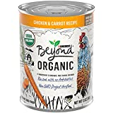 Purina Beyond Organic Wet Dog Food, Organic Chicken & Carrot Adult Recipe Ground Entrée with Broth - (12) 13 oz. Cans