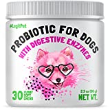 ✅ Forget about tummy troubles – LEGITPET Dog Probiotics Chews contain 3 billion CFUs in a delicious chewable form to help dogs with gas, bloating, constipation, diarrhea, indigestion, and stomach discomfort. 💩 Wondering how to stop dogs from eating p...