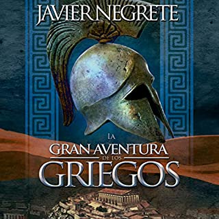 La gran aventura de los griegos (Narración en Castellano) [The Great Adventure of the Greeks - Castilian Narration] audiobook cover art