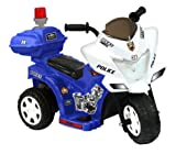 Kid Motorz 6V Lil Patrol in Blue & White with Siren Light