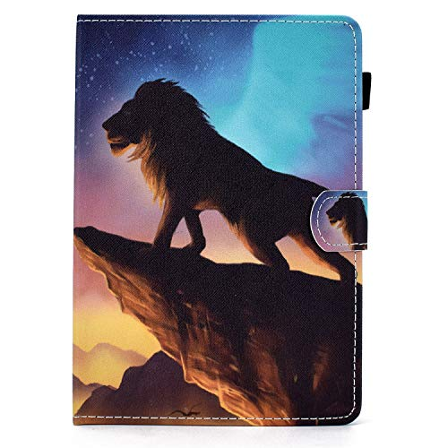 10 inch Tablet Case Cover - Universal Leather Stand Case Folio Cover Case Compatible with Fire HD 10,Google Nexus 9/10,Galaxy Tab E 9.6/Tab A 10.1, Sony Xperia Z/Z2/Z3