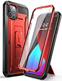 SUPCASE Unicorn Beetle Pro Series Case for iPhone 12 Pro Max (2020 Release) 6.7 Inch, Built-in Screen Protector Full-Body Rugged Holster Case(Ruddy)