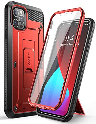 SUPCASE Unicorn Beetle Pro Series Case Cover for iPhone 12 Pro Max (2020 Release) 6.7 Inch, Built-in Screen Protector Full-Body Rugged Holster Case Cover