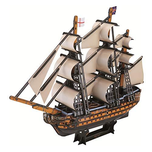 GODNECE - Maqueta de Barco de Madera 3D para Montar (Set de