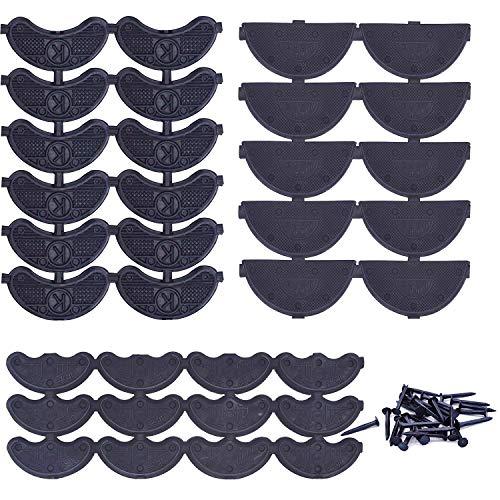 6pcs primavera metal Cabello Hoop Primavera ondulado Band–doubletwo Cabello Hoop Band Headband Headware accesorios para hombres y mujeres con