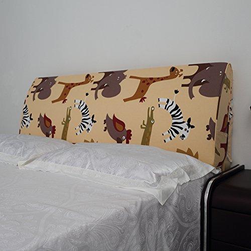 VERCART Coussin de Lecture Oreiller Polochon Confortable Ergonomique Orthopedique Cale Nuque Triangulaire Lit Canapé Chaise Banc Déhoussable 200x50x10cm