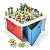 Imaginarium 100Pc Wooden Ready to Play Table, Multicolor, AD20594