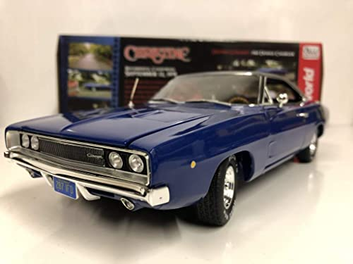 1968 Dodge Charger Hardtop Christine blau in 1 18 Auto World ERTL AWSS111