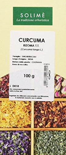Curcuma Rizoma Taglio Tisana - 100 g - Prodotto made in Italy
