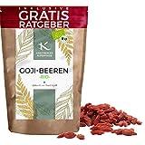 BIO Goji Beeren getrocknet 900g | Premium Gojibeeren naturbelassen ungezuckert Krautberger Superfood...
