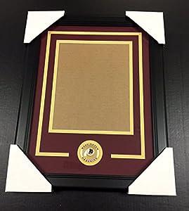 WASHINGTON REDSKINS Medallion Frame Kit 8x10 Photo Double Mat VERTICAL