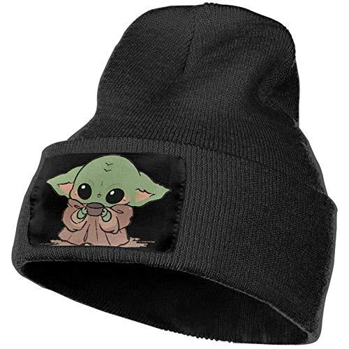 Adult Master-Baby-Yoda-Darth-Vader-Star-Wars Mütze Strickmütze Winter Warm Täglich Strickbündchen Hüte Unisex Schädel Strickmütze Mütze