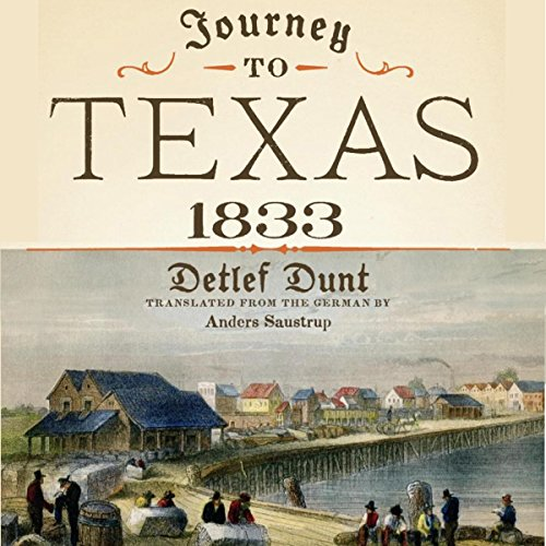 Journey to Texas, 1833 cover art