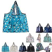 エコバッグ ショッピングバッグ 防水 折りたたみ 大容量 3個セット YN-Shopping-bag19 E型