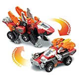 VTech - Switch & Go Dinos - Mastor, le Super Vélociraptor - Robot, Voiture/Dinosaure, Jouet Dinosaure - Version FR