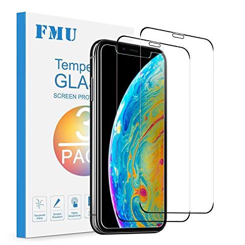 [2 Stück] Panzerglas Schutzfolie Kompatibel mit iPhone XS/iPhone X/iPhone 11 Pro, Frei von Kratzern, 9H Härte, Anti-Kratzen, Anti-Öl, HD Displayschutzfolie, Ultrabeständig