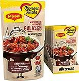 Maggi Herzensküche Hausmacher Gulasch, Würzpaste für Gulasch-Gerichte, Vegan, 10er Pack (10 x 65 g)