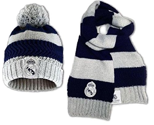 PSG Bonnet Plus Echarpe Enfant Real de Madrid Club Ronaldo C