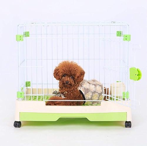 ordenar ahora GYYL Teddy Dog Cage Cat Cage Pomeranian Bear Bear Bear Perro pequeño Valla para Mascotas Suministros Dog Cage  tienda de venta en línea