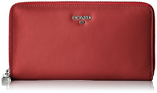 Picard Damen Bingo Geldbörse, Rot (Rot), 2.5x10x19 cm