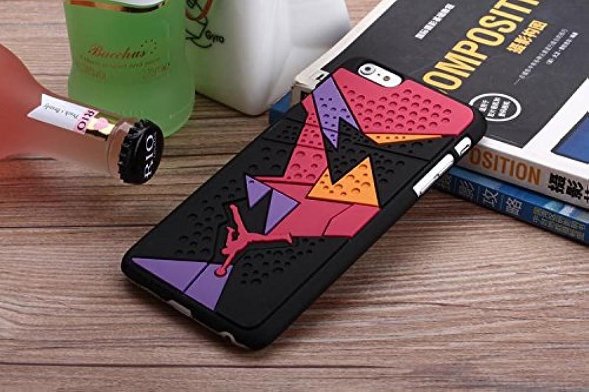 Hot Jordan sneakers 4 6 7 Sole PVC Rubber Cell Phone For iphone5s SE 6 6Plus 6sPlus 7 7Plus 8 8Plus men's sport basketball Cover - 13 - For iPhone 8Plus TPU