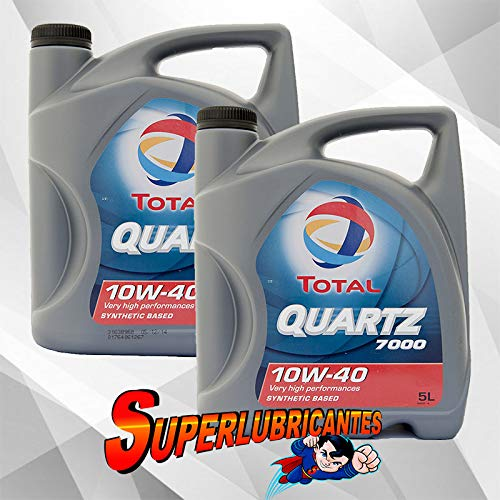Mundocoche Total Quartz 7000 10W40 A3-B4 2x5L(10Litros)