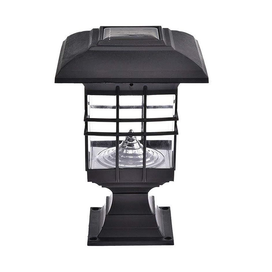 中断グッゲンハイム美術館スキッパーMdesign ソーラーポストキャップライトソーラーピラーランプ防水ガーデンランドスケープライト屋外LEDパスライトIP65屋外での使用に耐候性。
