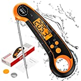 (2021 New Version) Brifit Digital Meat Thermomter, Instant Read Food Thermometer, Waterproof High...