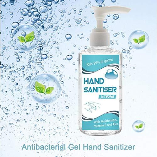 Pongaps 60ML Draagbare Pers-type Antibacteriële Gel Hand Sanitizer Amino Zuurreiniger Zepen & Handwas