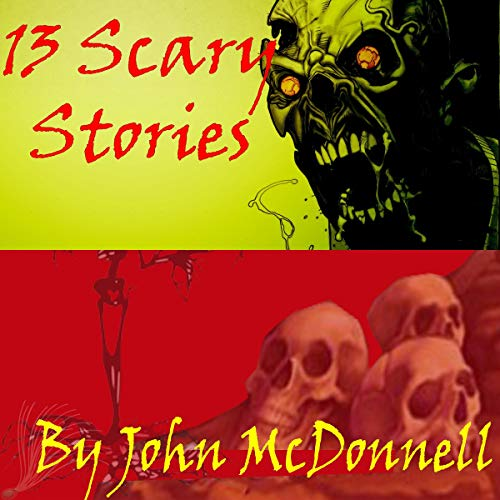 13 Scary Stories audiobook cover art