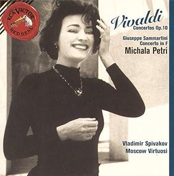 Vivaldi--Concertos Op.10/Sammartini--Concerto in F