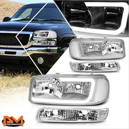 02 gmc sierra headlight assembly - 4