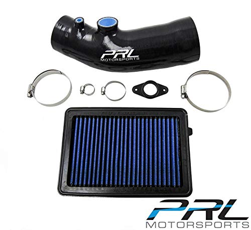 PRL Stage 1 Air Intake System Black for 2017+ Honda Civic Type-R