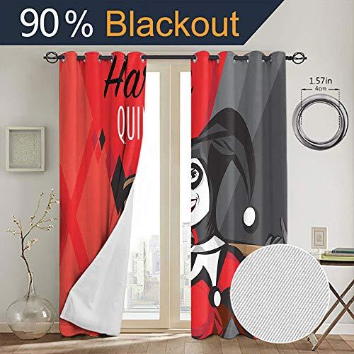 51SdOvRjWLL Harley Quinn  Curtains