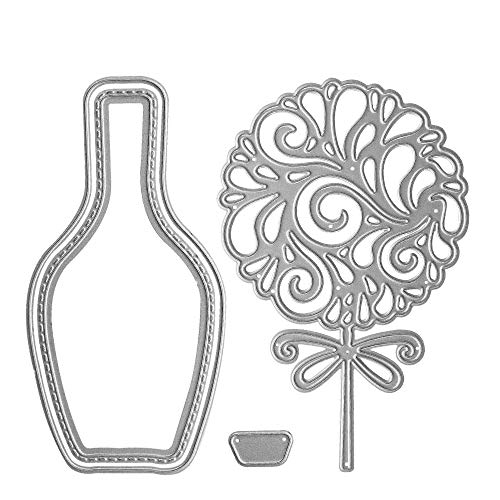 Metal Cutting Dies Stencil Template Moulds, Embossing Tool for Album Paper Card Making Scrapbooking DIY Etched Dies Craft (Lollipop)