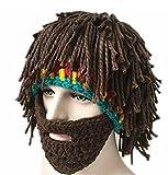 Da.Wa Vagabond Bild Lustige Hüte Wintermütze mit Bart für Weihnachtstag oder Eine Maskerade - 2