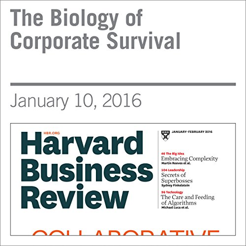 The Biology of Corporate Survival audiobook cover art
