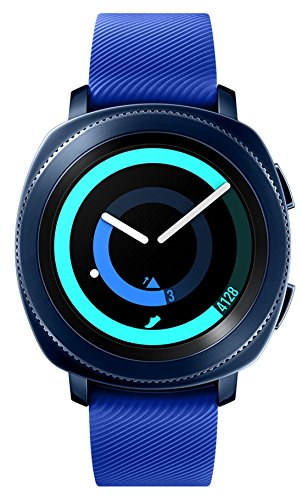Samsung Gear Sport (SM-R600) Blue, International Version, No Warranty