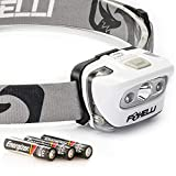 Foxelli Headlamp Flashlight - Super Bright Cree Led, Lightweight,...