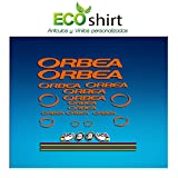 Ecoshirt 1A-O0CX-LCWV Pegatinas Orbea R71 Vinilo Adesivi Decal Aufkleber Клей MTB Stickers Bike, Naranja