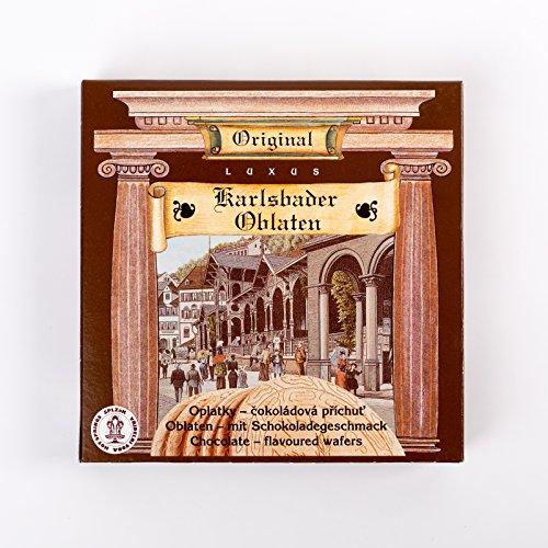 5 Packungen Karlsbader Oblaten mit Schokoladen Geschmack (5 x 170 g)
