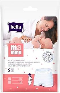 bella Mamma Wöchnerinnen Slips Größe XL, 90-130 cm, 4er Pack 4 x 2 Slips elastisch, weich und hautverträglich