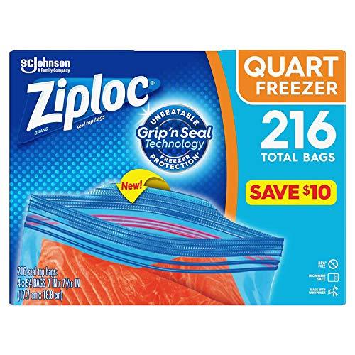 ziplock bags quart freezer - 3