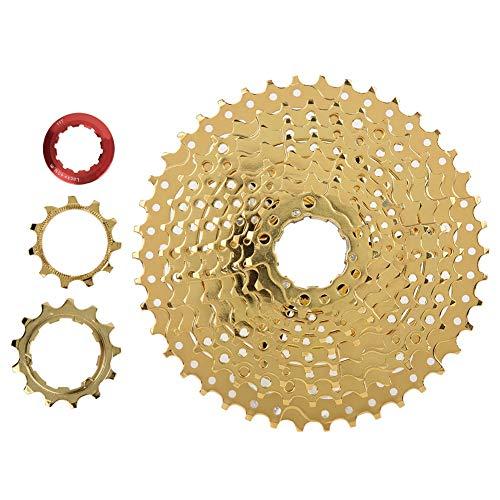 Fietscassettetandwiel, mountainbike vrijloop, ZTTO 30 10 speed 11-42T stalen fiets vliegwiel freewheel cassette tandwiel accessoire voor mountainbike