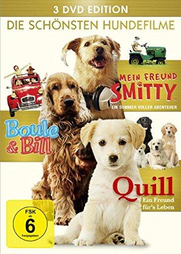 Die schönsten Hundefilme - Quill / Mein Freund Smitty / Boule & Bill [3 DVDs]