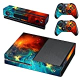 UUShop Protective Vinyl Skin Decal Cover for Microsoft Xbox One Cosmic Nebular(NOT for One S or X)