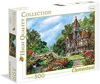 Clementoni Adult Puzzle Old Waterway Cottage, Multi-Colour, 500 Pieces