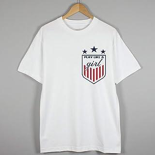346831247 USA Women's Soccer Logo Play Like a Girl #USWNT 2019-gift for Soccer Fans Pocket t Shirt t-Shirt Shirts
