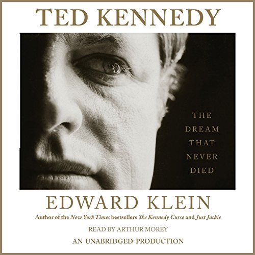 Ted Kennedy audiobook cover art